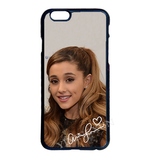 Ariana Grande Cover Case for LG G2 G3 G4 iPhone 4 4S 5S 5C 6 6S Plus iPod Samsung Note 2 3 4 5 S2 S3 S4 S5 Mini S6 Edge Plus #S(China (Mainland))