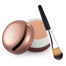 Free Shipping Blemish Concealer Cream Smooth Moisturizing Makeup Cover Foundation Brush 2015 New