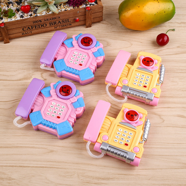 Creative Developing Intelligence Educational Toy Learing Kid Toys for Children Musical Phone Toy Baby Toys