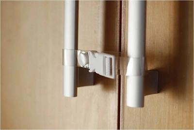 10 шт./компл. 3 цвет бенди безопасности холодильник кабинет дверные замки ящика туалет ...