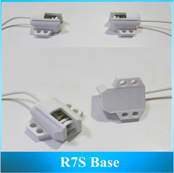 Cast light lamp double ended ceramic Lamp Base / R7S Holder 2