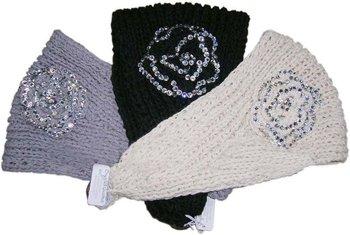 Free shipping wholesale bestselling Handmade knit hairbands Flower headwrap/headband knit headwear with rhinestones hair bands