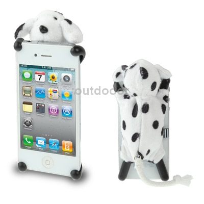 Гаджет  Brand New Three-dimensional Plush Dog Doll Protected Case for iPhone 4 4S None Изготовление под заказ