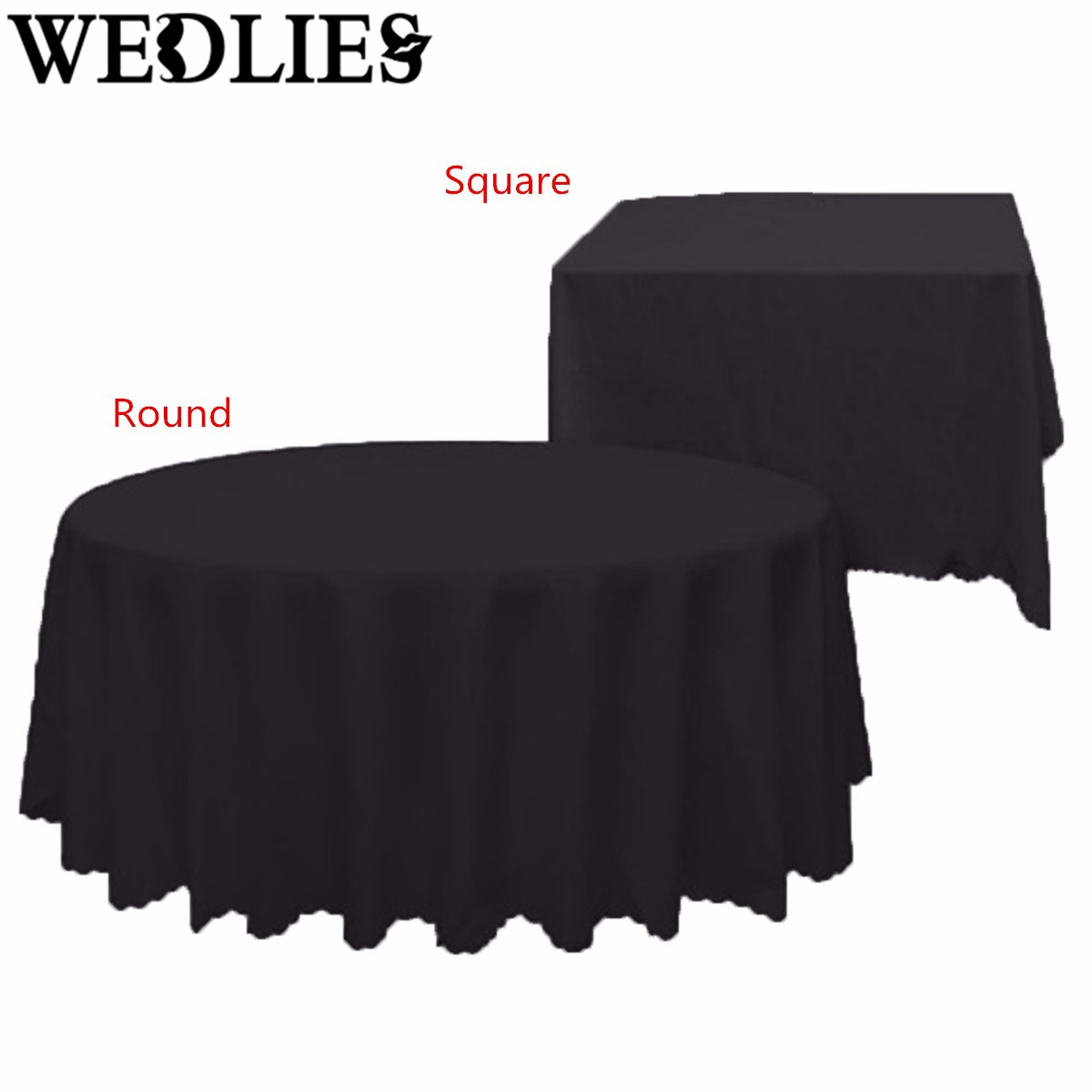 White Black PE Tablecloth Waterproof Table Cover Cloth Wipe Clean Banquet Wedding Party Events Table Decoration Supplies(China (Mainland))