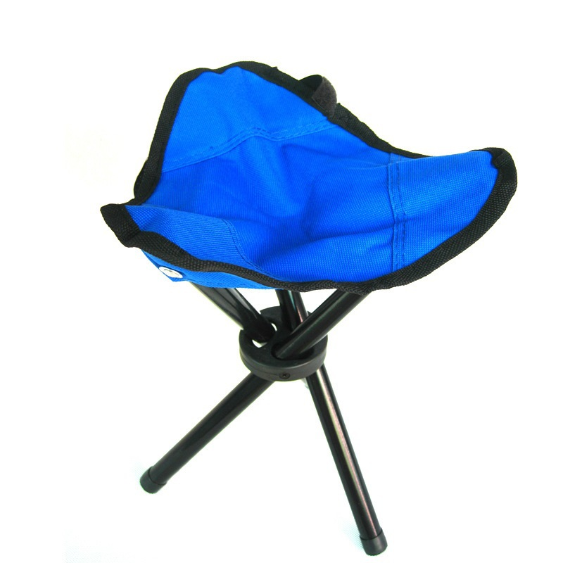3 Colors Small Outdoor Camping Tripod Folding Stool Chair Fishing Foldable Portable Fishing Mate Fold Chair with Bag #89080(China (Mainland))