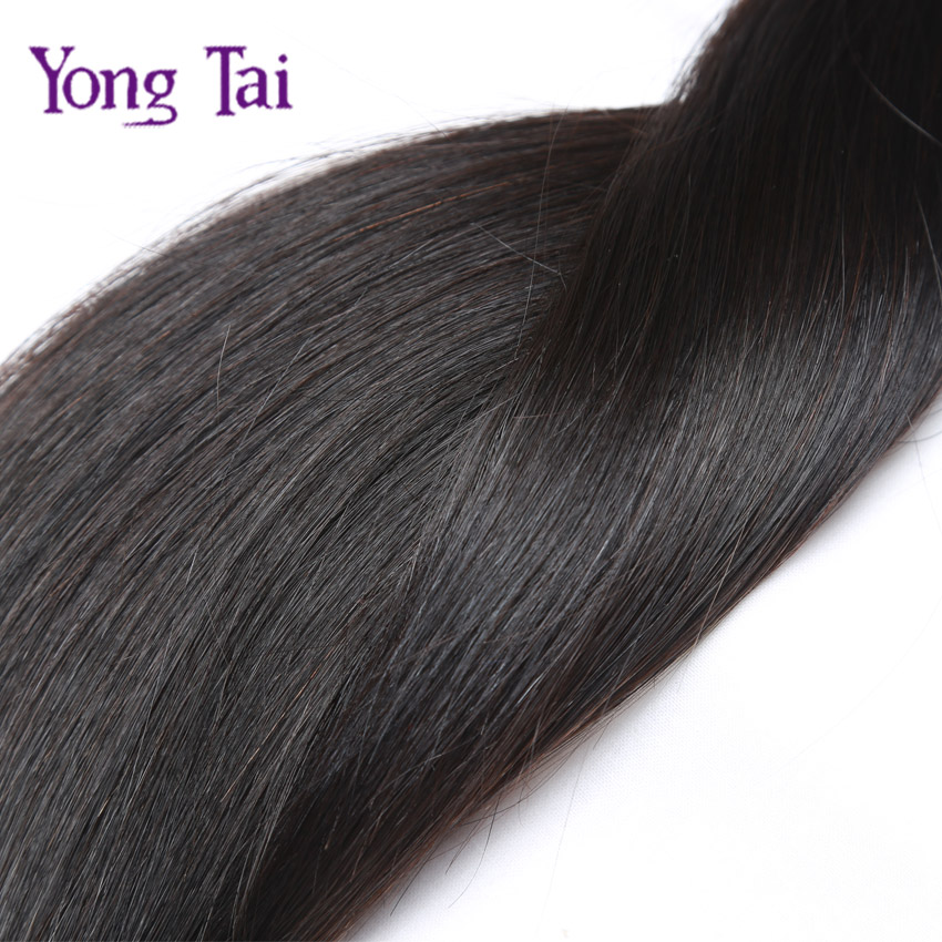 School Prom, Salon, Personal Instalment, 7A Remy Hair Bohemian Straight Weave with Weft Top, Long Lasting Long Hair for Holiday(China (Mainland))