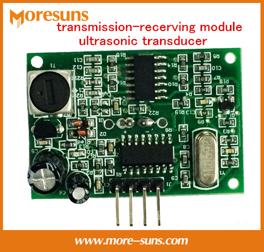 Fast Free Ship 5pcs transmission-recerving module ultrasonic transducer/serial port output waterproof ultrasonic ranging module(China (Mainland))