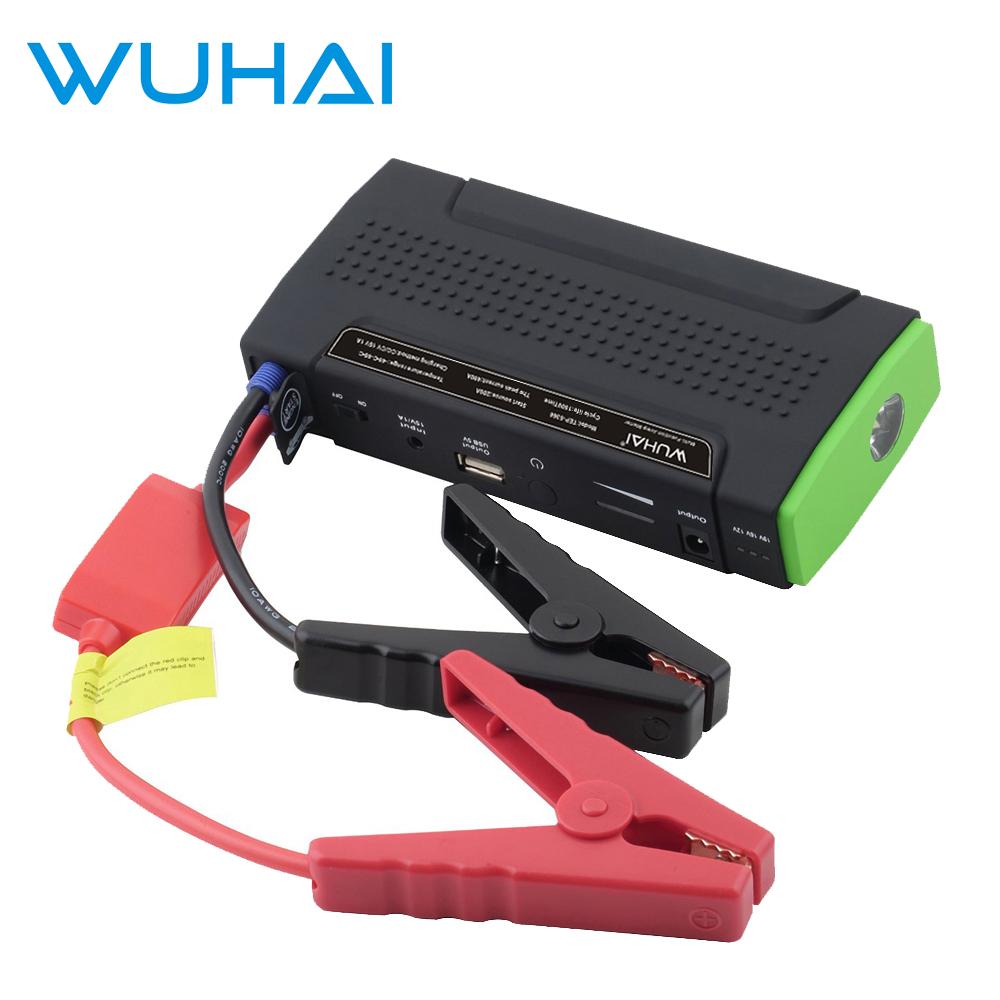 WUHAI Portable Car Jump Starter and Powerbank