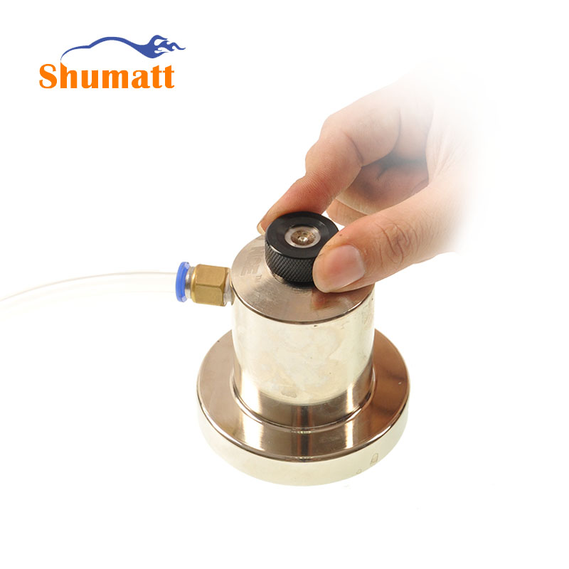 Common Rail CRS Injector Valve Assembly Leaking Sealing Tester Seat Connector Interface Spare Parts CRT101(China (Mainland))