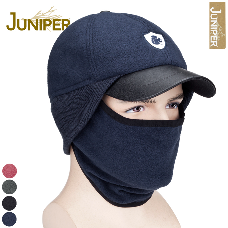 Juniper outdoor male hat pocket hat female winter hat cap ear protector windproof warm hat ride(China (Mainland))