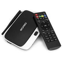 TOPS Q7 TV Box Android 4.4 RK3188 Black Quad Core Mini PC WiFi 2G RAM 8G ROM Support Bluetooth HDMI Connectivity With AV Input(China (Mainland))