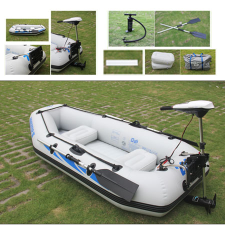 Outdoor fishing boat assault hovercraft 2 person kayak for Two man fishing boat