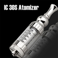 IC30S Atomizer 3 0ml tank Huge vapour Replaceable core coil stainless Clearomizer IC30s Atomizer for Electronic