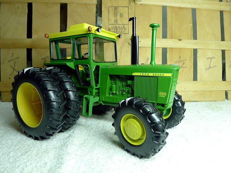 KNL HOBBY J Deere 4620 tractor alloy giant agricultural autos fashions US Safety Act ERTL 1:16