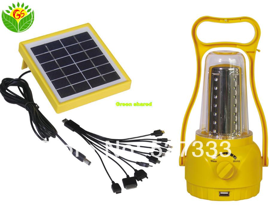 Alto brilho lanterna solar, Solar iluminação de acampamento, Solar