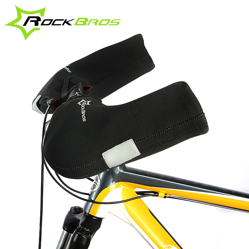 ROCKBROS Windproof Outdoor Sports Mountain Road Bike Gloves Covers For Men &Women In Winter Cycling Winter Gloves Accessories(China (Mainland))