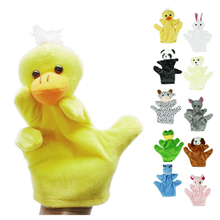 AliExpress |Delicate Baby Child Zoo Farm Animal Hand Glove Puppet Finger Sack Plush Toy Hot Selling