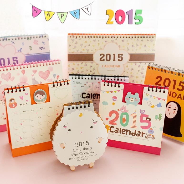 Как сделать календарь 2015 года своими руками
