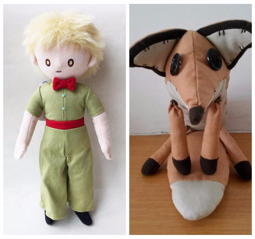 The little prince toddler plush toys dolls . The frozened little prince animals plush doll education toys for baby christmals(China (Mainland))