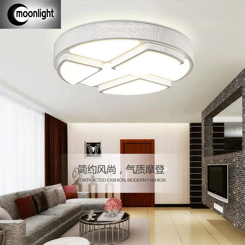 LED ceiling lamp remote control dimmer lamps romantic bedroom lamp lighting lamp round simple living room<br><br>Aliexpress