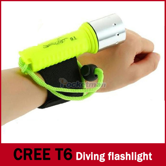 New 2100LM CREE T6 LED Waterproof underwater scuba Diver Diving Flashlight Dive Torch light lamp for diving led flashlight(China (Mainland))