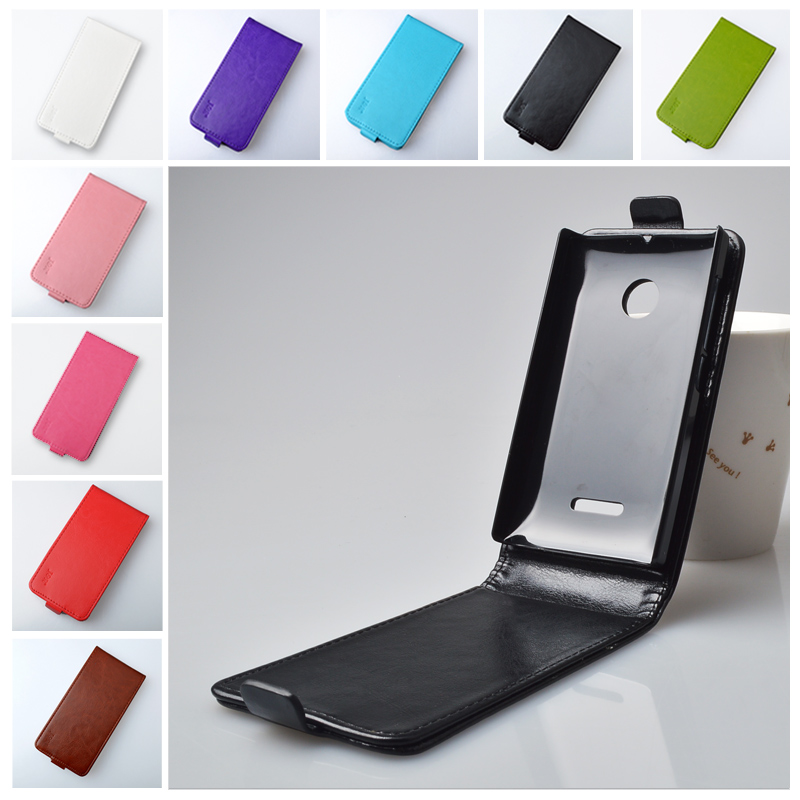 For Microsoft Nokia Lumia 532 Flip PU Leather Case Full Protect Cover Phone Skin Vertical With Safe Buckle Case J&R Brand(China (Mainland))