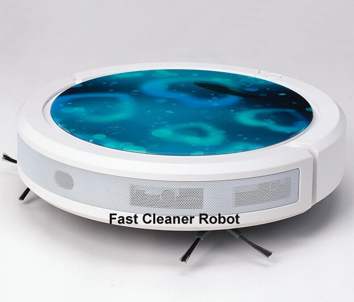 Free Shipping 2015 Newest robot mini vacuum cleaner with UV sterilization, Anti-collision, Touch panel(China (Mainland))