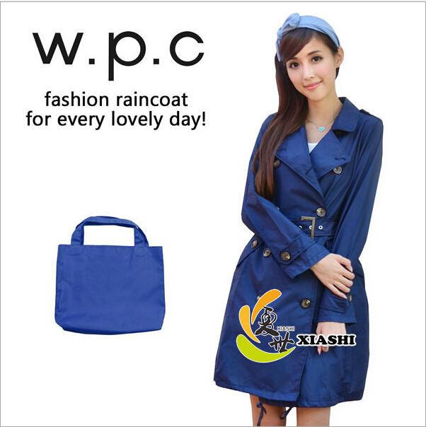 YY-09 Japanese cute Korean fashion outdoor adult female models raincoat poncho coat travel windproof Rainwear(China (Mainland))