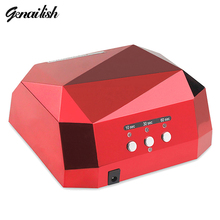 genailish 36W UV Lamp Nail Dryer UV LED Lamp for Nails Gel Dryer Nail Lamp Diamond Shape Curing for UV Gel Polish Nail Art Tools(China (Mainland))