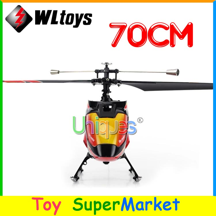 Newest WLtoys V913 Big RC Helicopter Remote Control Toys 4CH 2.4GHz Radio RTF Single Blade 70cm Large 2014 new As MJX T40 F45(China (Mainland))