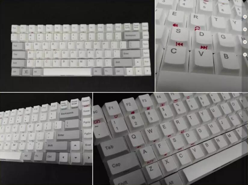 NOPPOO choc 84 mini Top printing Keycap for Mechanical Gaming Keyboard<br><br>Aliexpress