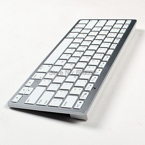 5pcs/lot New Computer Gaimg Bluetooth 3.0 Mini Russian wireless keyboard For PC Macbook Android Mobile Iphone iPad(China (Mainland))