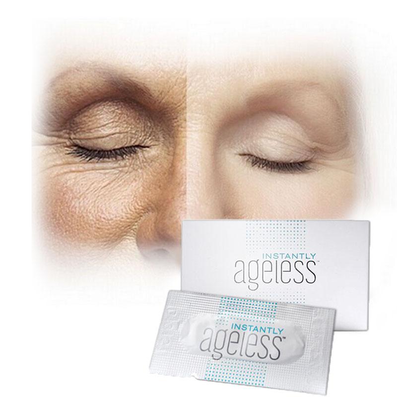 10pcs/lot Hot Instantly Ageless Face lift serum Jeunesse ageness beauty Anti Wrinkle Anti Aging Cream eliminate eye bas sachet