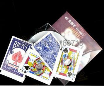 Solo By Mark Mason (DVD and Gimmick) - Card Magic, Magic Trick(China (Mainland))