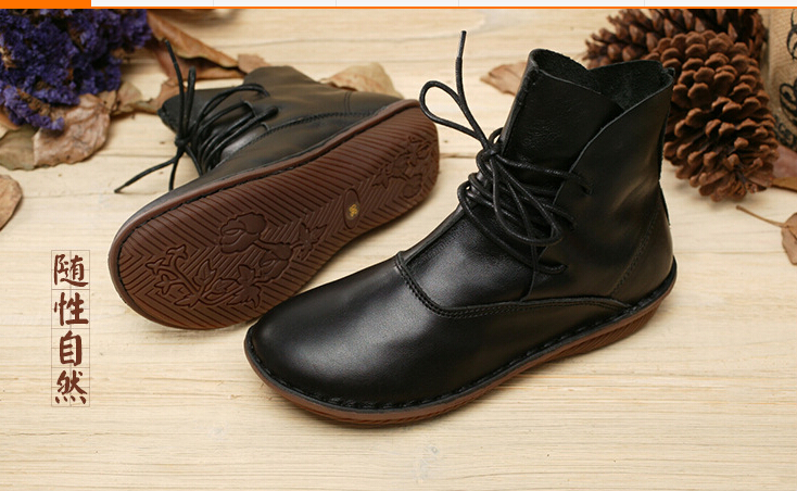 2015 Spring  Women Shoes, High Genuine Leather Boots, Genuine Leather