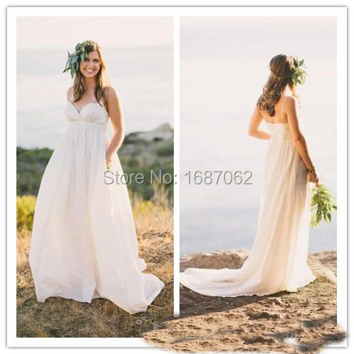 Custom made maternity beach wedding dresses 2015 vintage for Maternity wedding dresses under 100