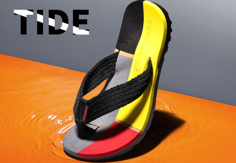2017 High Quality Men Slides Flip Flops Lightweight Male Sandals Summer Beach Shoes Chinelo Masculino Plus Size 36-45