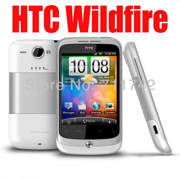 G8 Refurbished HTC Wildfire Google G8 A3333 Android GPS 5MP Camera Smrtphone Unlocked Cell Phone(China (Mainland))