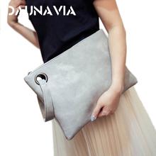 Buy DAUNAVIA bag ladies women's clutch bag leather women envelope bag clutch evening bag female Clutches Handbag free for $5.39 in AliExpress store