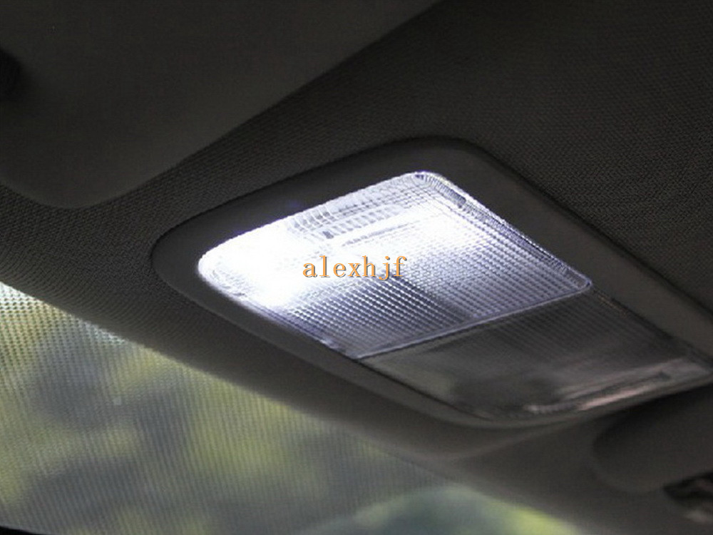led car interior reading lights for honda civic city 2006 11 fit jazz 2007 2010 ebay. Black Bedroom Furniture Sets. Home Design Ideas