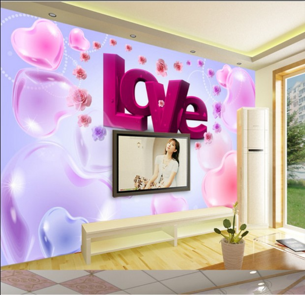 com buy free shipping modern seamless heart shaped bedroom tv