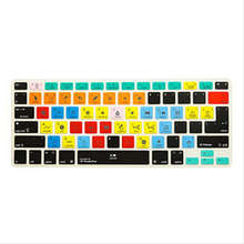 Shortcut Silicone Keyboard Cover Skin 2016 new For apple iMac Studio One ,Macbook Pro Air retina 13 15 KC_A1278_TY_StudioOne