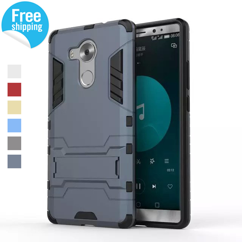 for Huawei Mate 8 Cases 2 in 1 Hybrid Dual Heavy Duty TPU + PC Iron Man Shield 3D Armor Case For Huawei Mate 8 Phone Back Cover(China (Mainland))