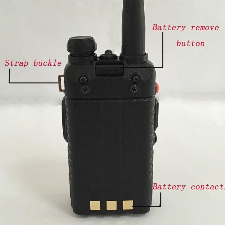 New Waterproof Pofung Baofeng UV-5RA For Police Walkie Talkies Scanner Radio Vhf Uhf Dual Band Cb Ham Radio Transceiver 136-174 (18)