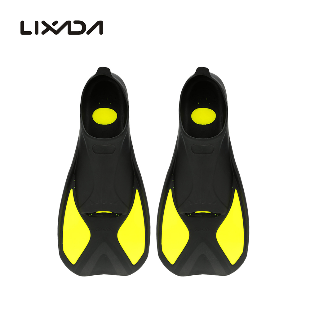 LIXADA Adult Silicone Swimming Fins 2016 New Summer Women Swim Flippers Scuba Diving Paddles Men Snorkeling Shoes Sea Boots(China (Mainland))