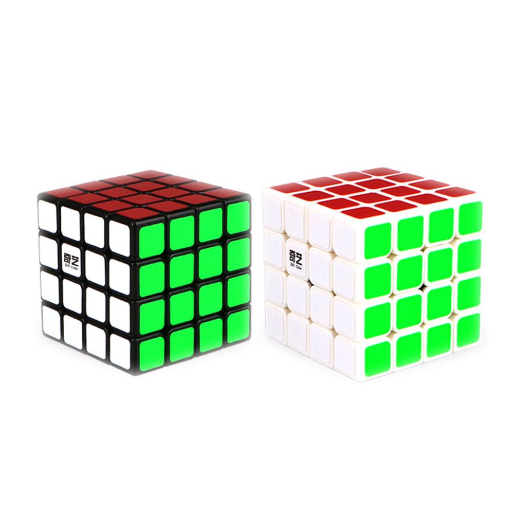 QiYi QiYuan 4X4X4 Magic Cube Professional Speed Cube Rubik Cube Puzzle Cube With Stickers Kids Brain Teaser Cubo Magico Toys.(China (Mainland))