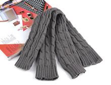 4 Colors New Fashion Women Knit Crochet Long Fingerless Kniting Winter Gloves Knitted Wool Arm Warmer Mitten(China (Mainland))