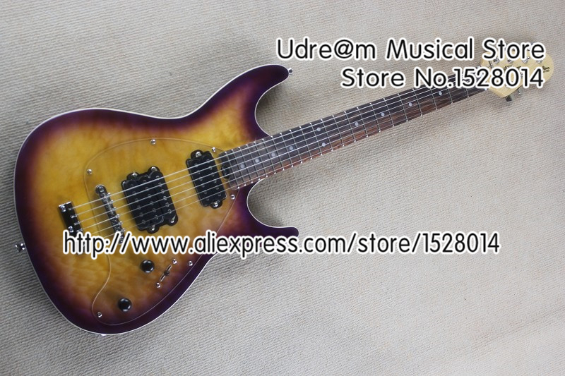 Hot Selling Music Man Steve Morse SM-Y2D Electric Guitar China Quilted Finish As You Want(China (Mainland))