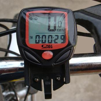 Гаджет  Bicycle Computer Leisure 14-Functions Waterproof Cycling Odometer Speedometer With LCD Display Bike Computers MBI-67 None Спорт и развлечения