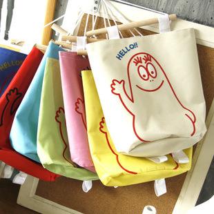 Storage bag cartoon storage bag wall mounted closet organizer oxford cloth organizador pouch home hanging bag organizer 51g(China (Mainland))